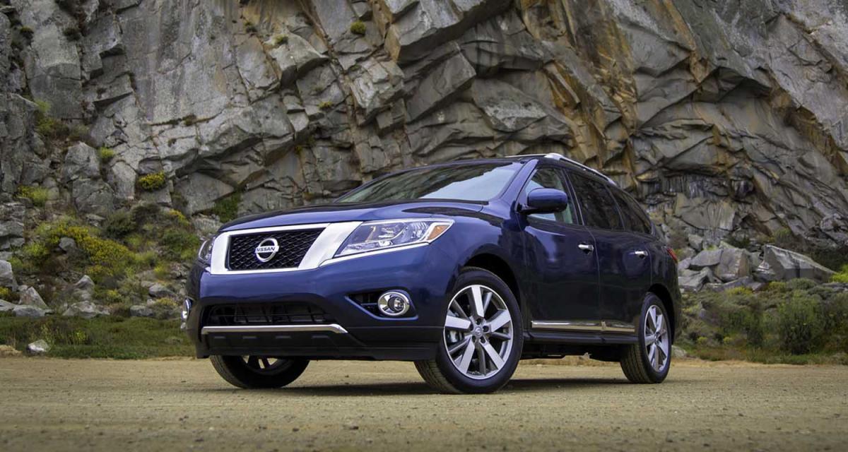 Nissan Pathfinder 2013 : sorti des pistes