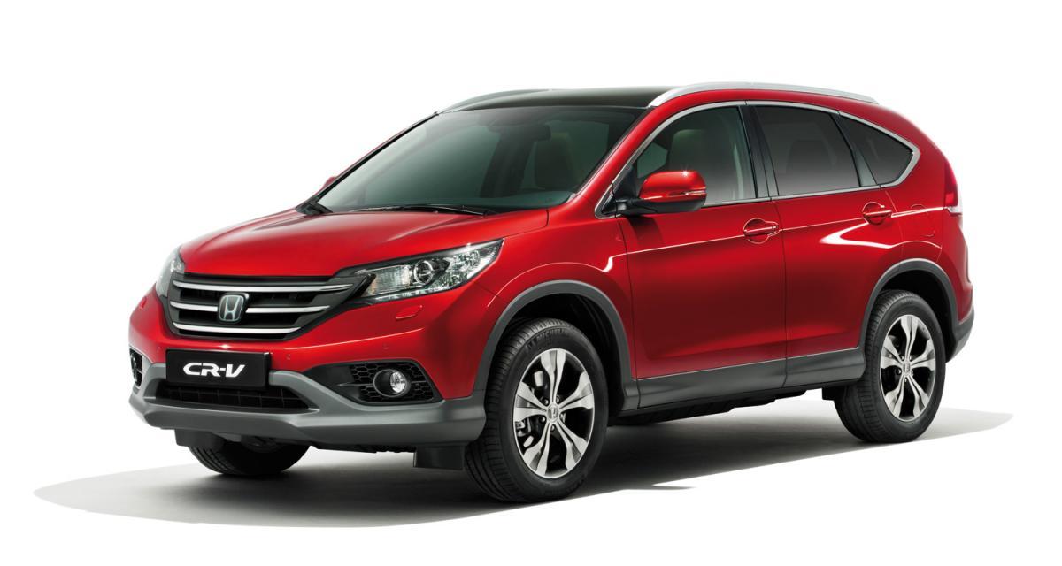 Mondial de Paris 2012 : nouveau Honda CR-V