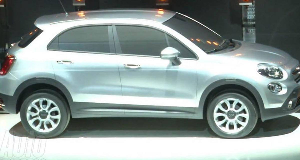 Fiat 500X : la première image