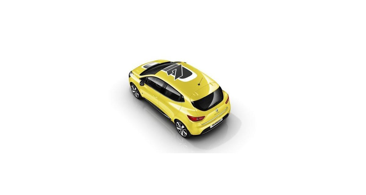 Personnalisation Renault : la Clio 4 lorgne les Mini et DS3