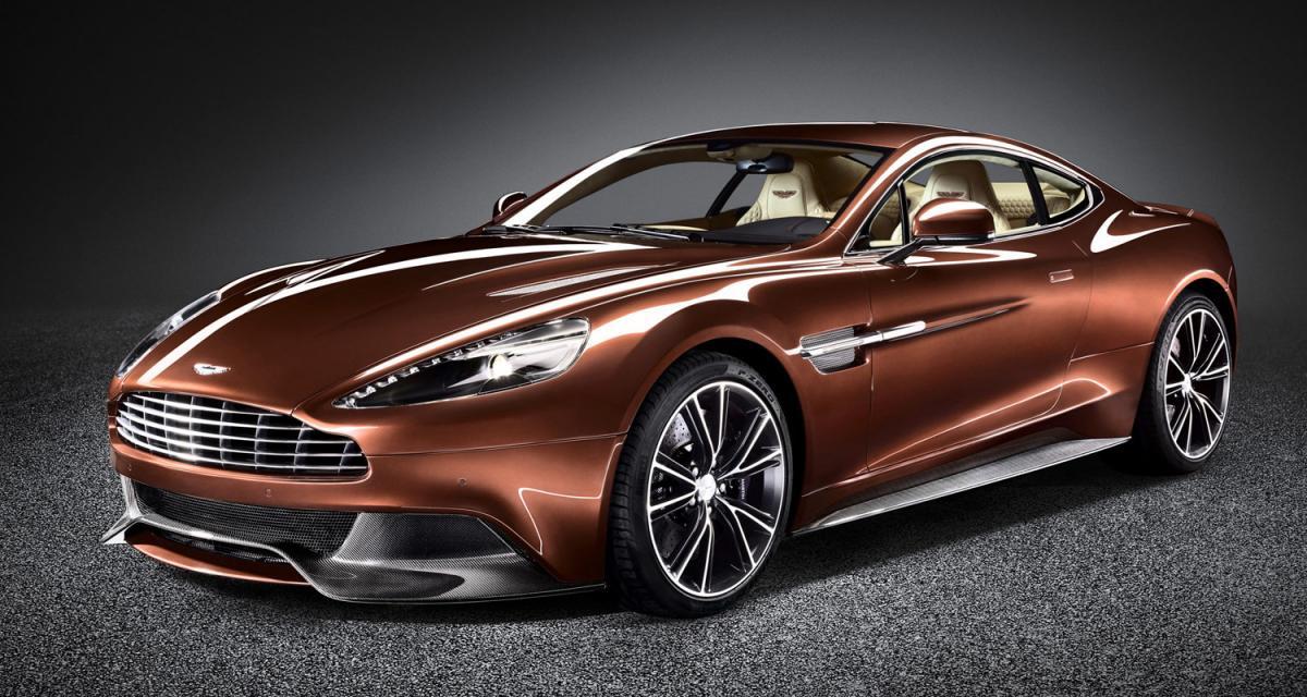 Aston Martin Vanquish : 573 ch