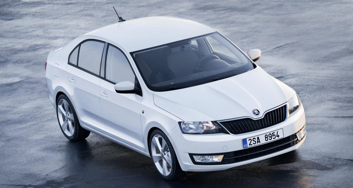 Mondial 2012 : Škoda Rapid