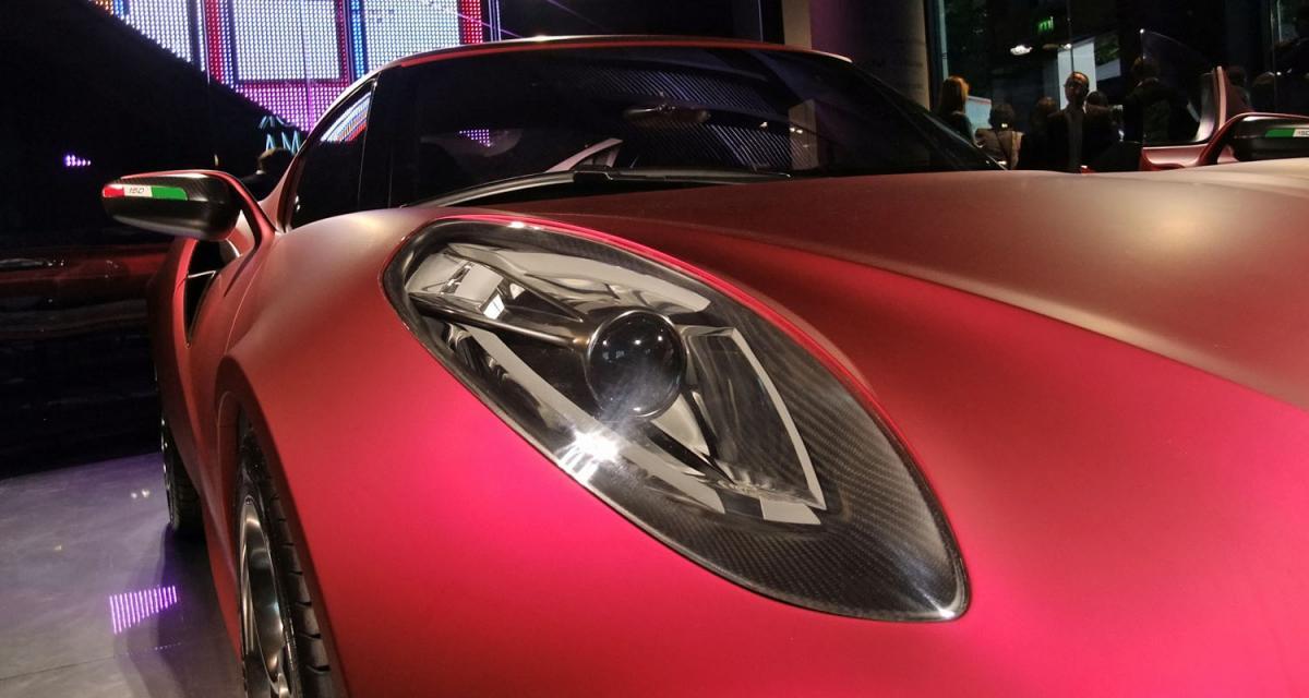 Alfa Romeo 4C : présentation imminente