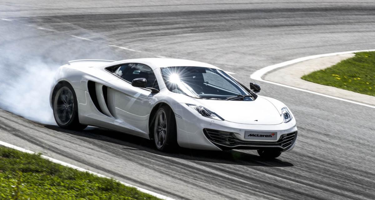 McLaren MP4-12c : 25 ch (gratuits) en renfort