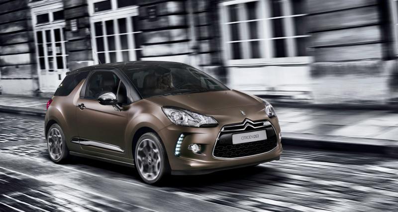 Citroën DS3 : séries limitées Graphic Art et Just Mat