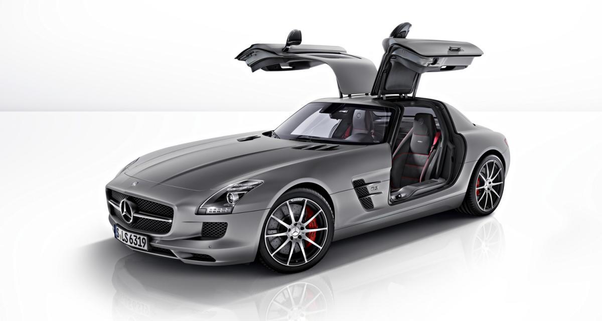 Mercedes SLS AMG GT : pour quelques chevaux de plus