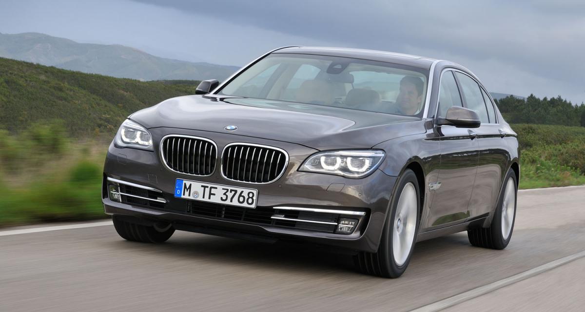 BMW Série 7 restylée : le progrès en marche