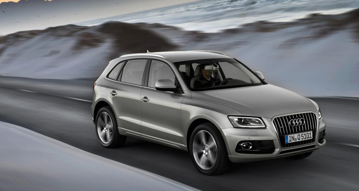 Pékin 2012 : Audi Q5 restylé