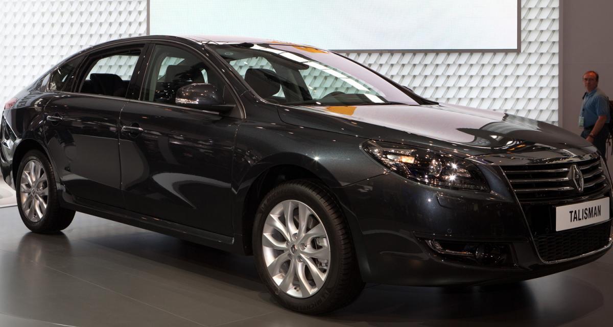 Pékin 2012 : Renault Talisman