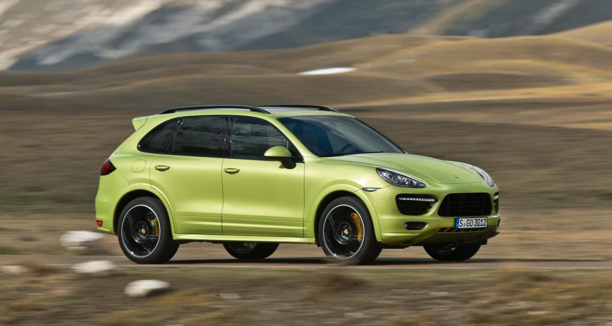 Pékin 2012 : Porsche Cayenne GTS