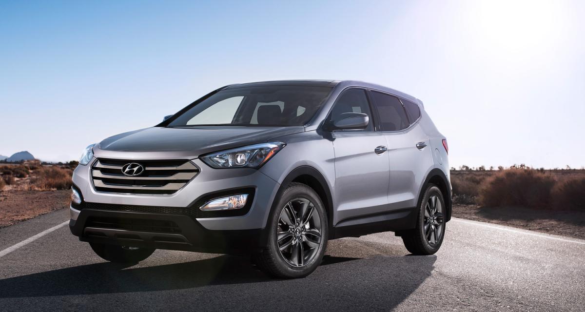 New York 2012 : Hyundai Santa Fe et Santa Fe Sport