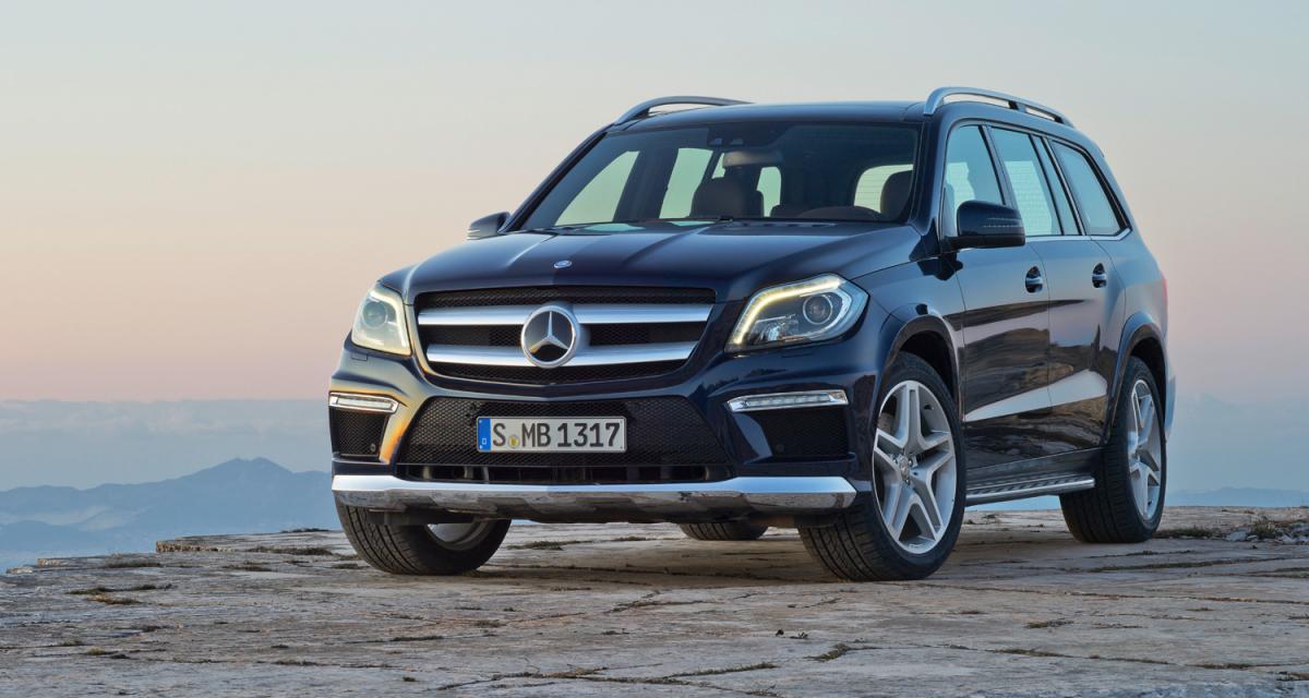 New York 2012 : nouveau Mercedes GL