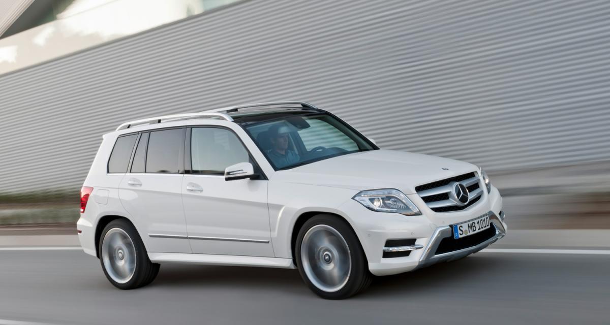 New York 2012 : Mercedes GLK restylé