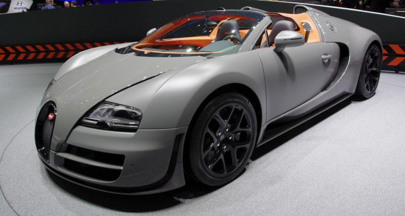 Genève 2012 : Bugatti 16.4 Veyron Grand Sport Vitesse