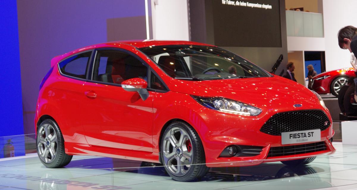 Salon de Genève 2012 : Ford Fiesta ST
