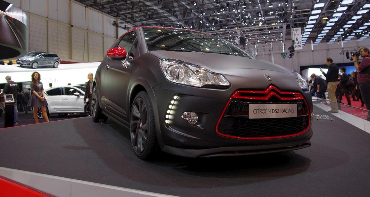 Genève en direct : Citroën DS3 Racing S. Loeb