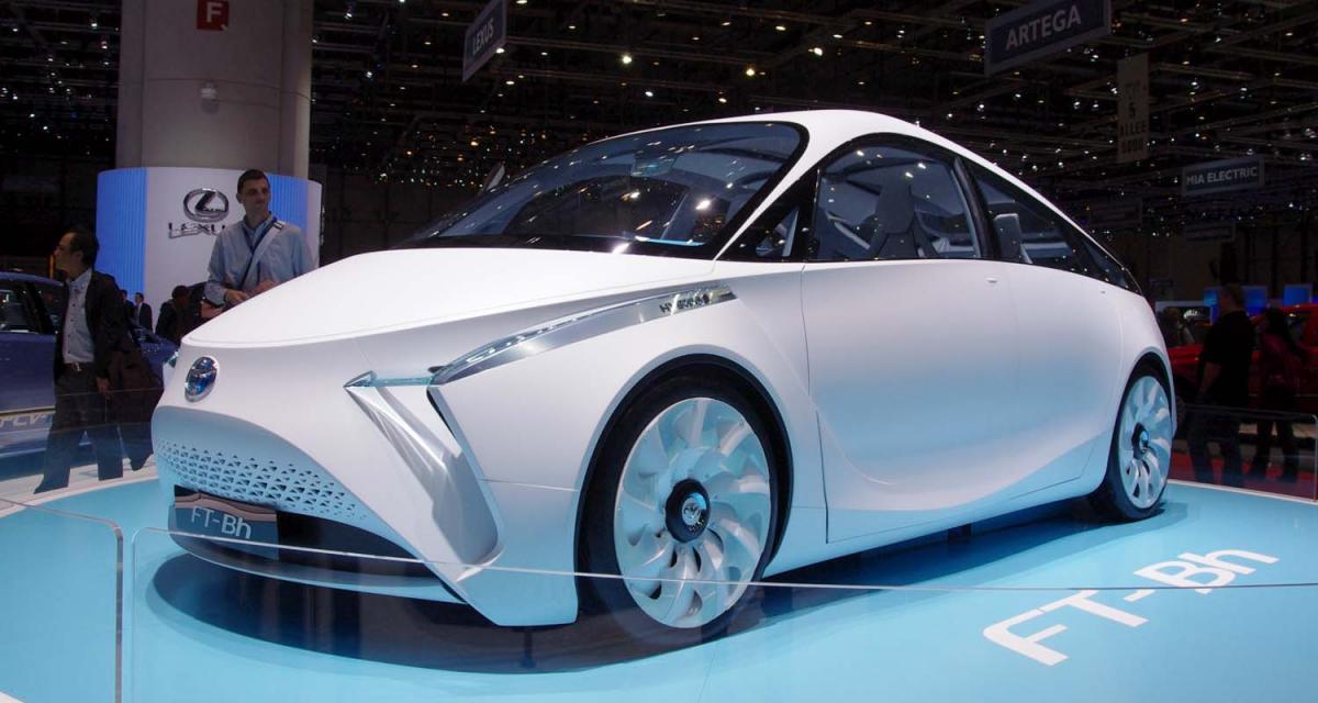 Genève 2012 : Toyota FT-Bh concept, toutes nos photos