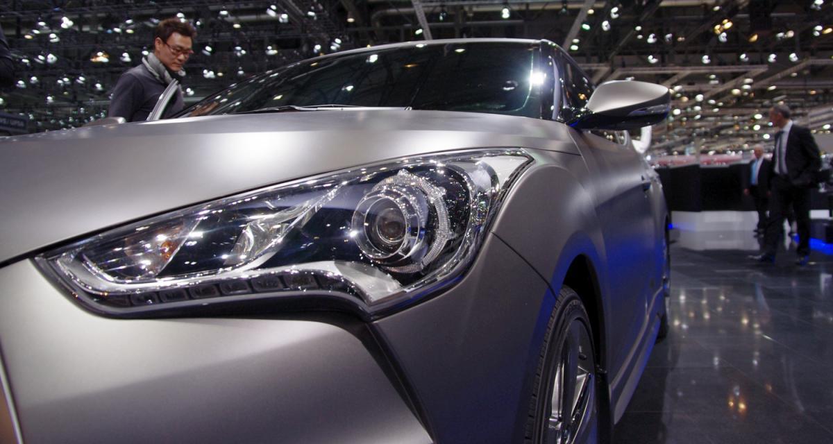 En direct de Genève : Hyundai Veloster turbo