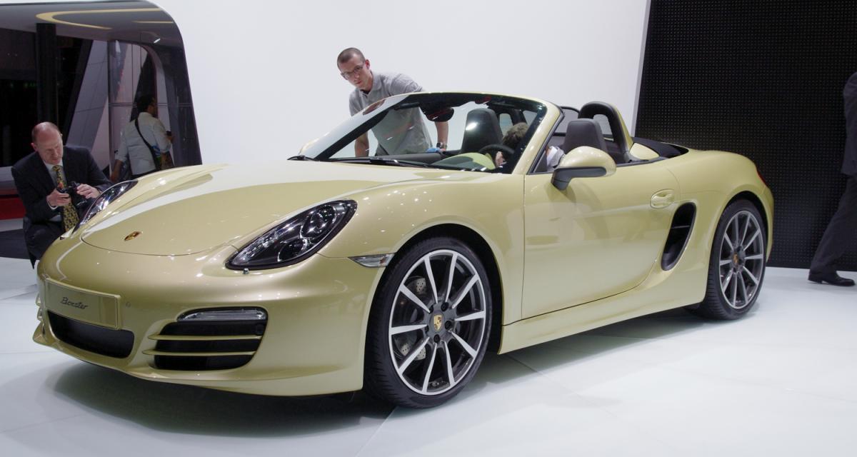 En direct du salon de Genève : Porsche Boxster, toutes nos photos