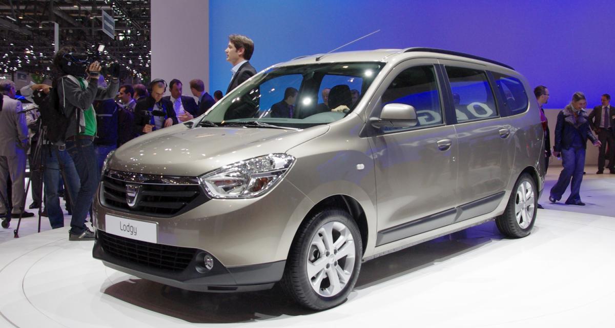Salon de Genève 2012 : toutes les photos du Dacia Lodgy vendu à partir de 9 900€