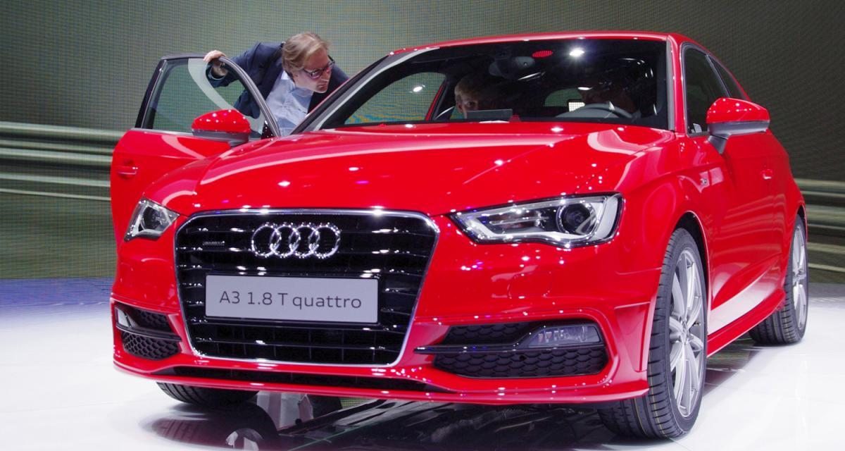 Salon de Genève en direct : toutes nos photos de la nouvelle Audi A3