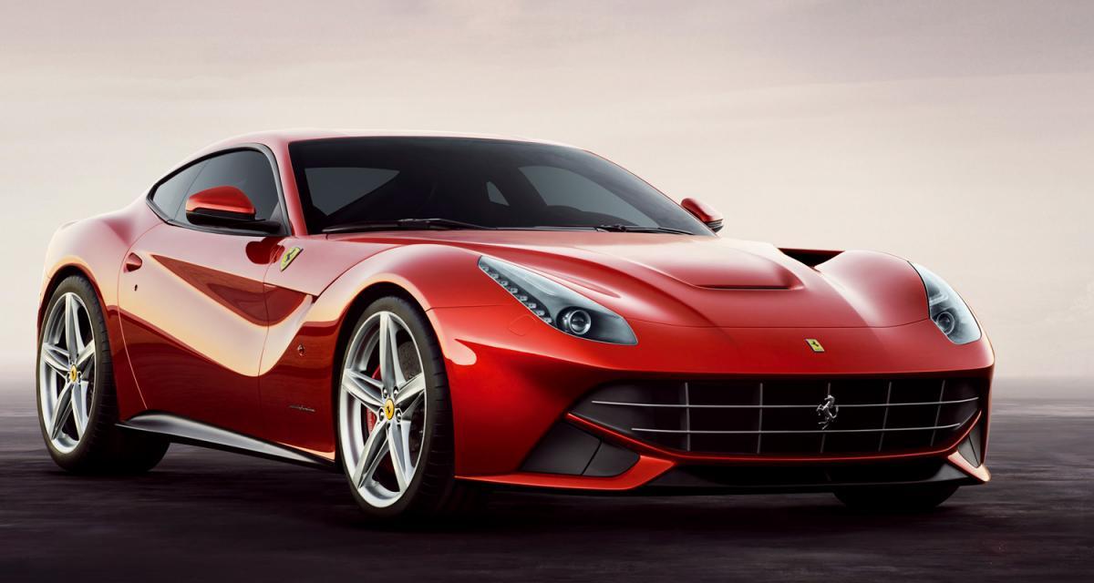 Ferrari F12 berlinetta : cheval super cabré
