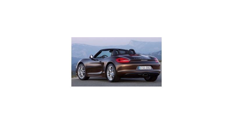 Nouveau Porsche Boxster : fidèle au Flat-6