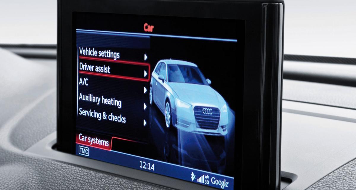 Audi A3 2012 : premières images de l'habitacle