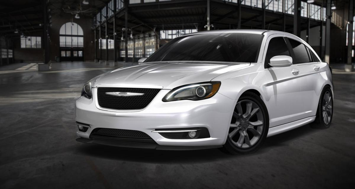 Detroit 2012 : Chrysler 200 Super S