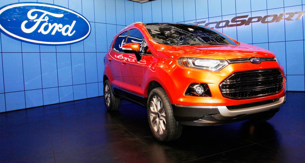 New Delhi 2012 : Ford EcoSport