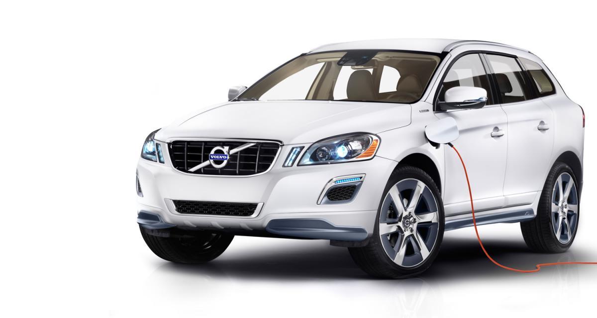 Detroit 2012 : Volvo XC60 Plug-In Hybrid