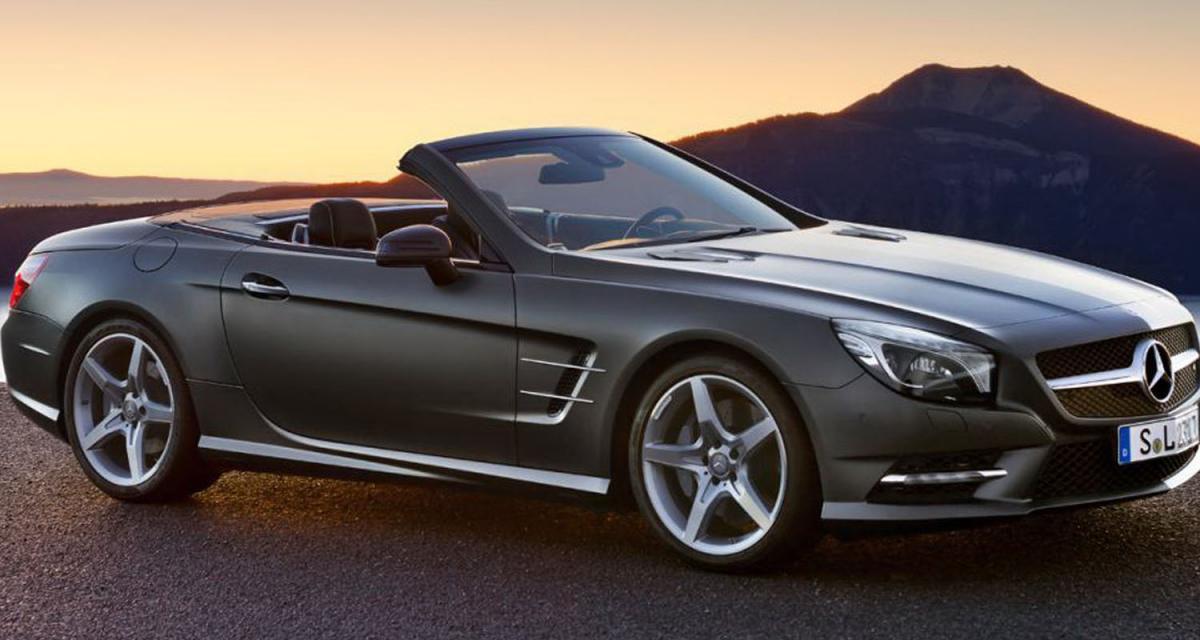 Detroit 2012 : Mercedes SL (R231)