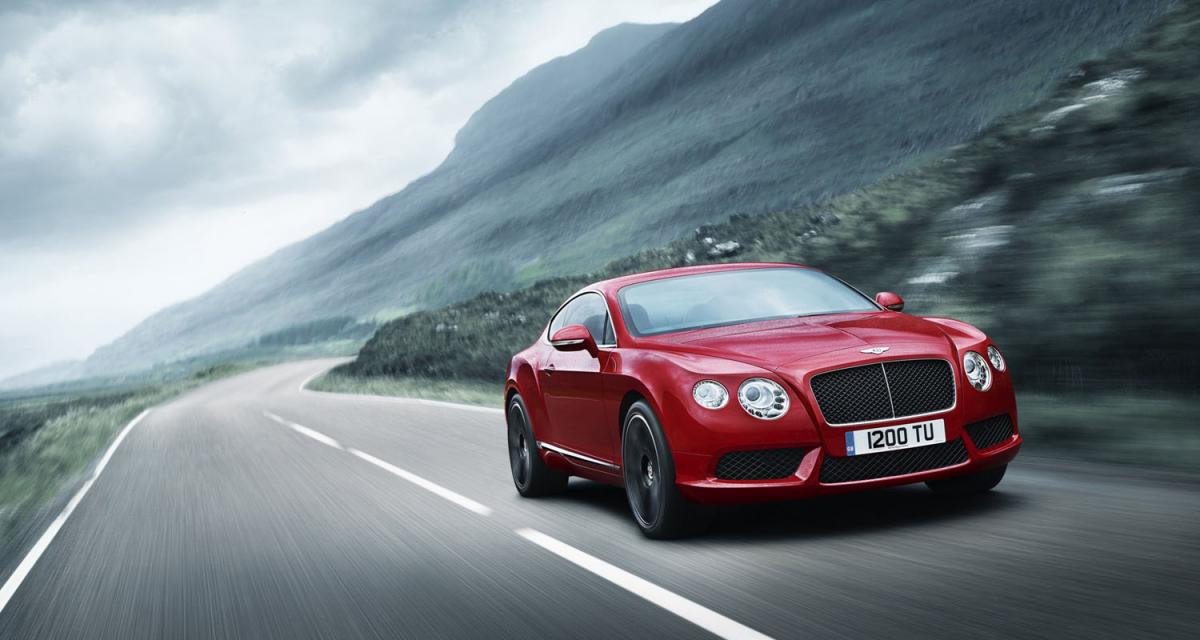 Detroit 2012 : Bentley Continental GT V8