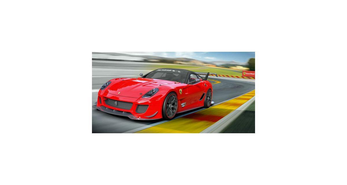 Bologne 2011 : Ferrari 599XX Evoluzione