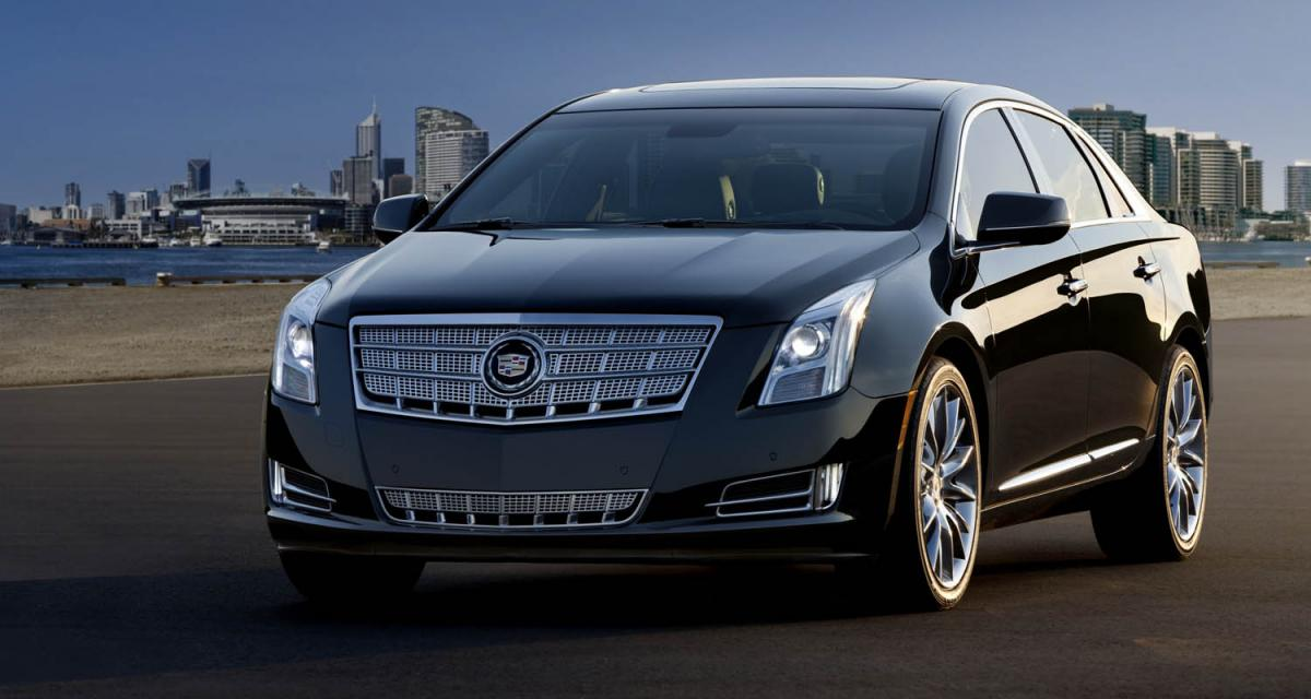 Los Angeles 2011 : Cadillac XTS