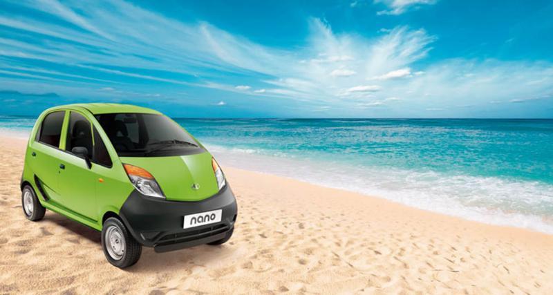 Tata Nano 2012 : couleurs d'automne