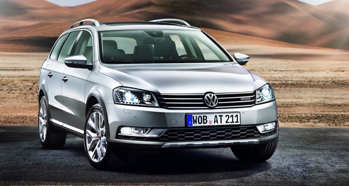 Tokyo 2011 : Volkswagen Passat Alltrack