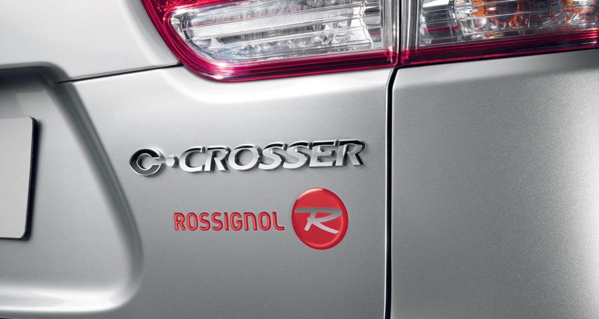 Citroën aux sports d'hiver avec Rossignol