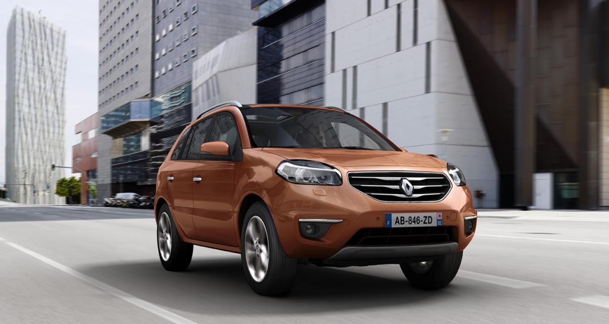 Francfort 2011 : Renault Koleos restylé
