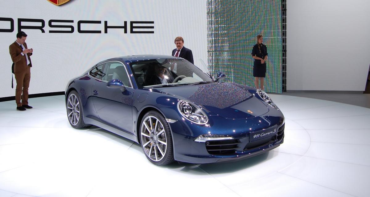 Francfort 2011 : Porsche 911 (type 991)