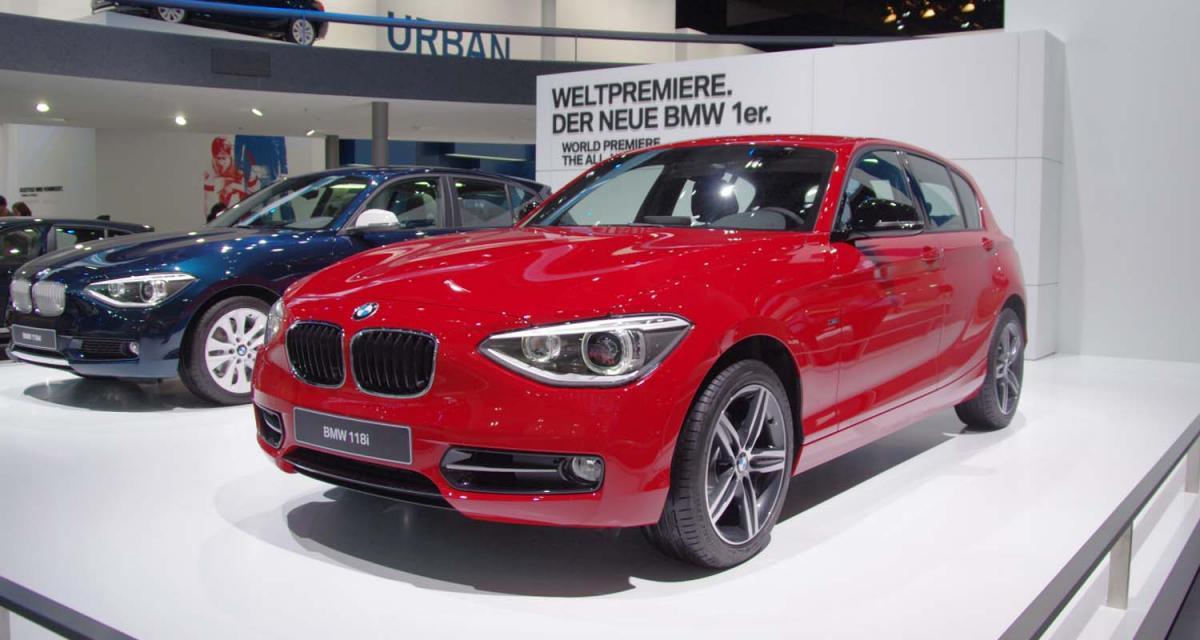 Francfort 2011 : BMW Série 1