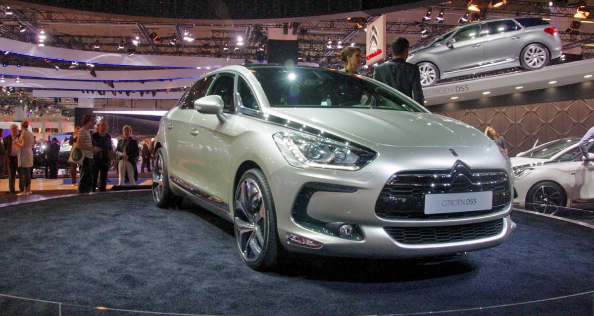 Citroën DS5 : les chevrons dans le premium
