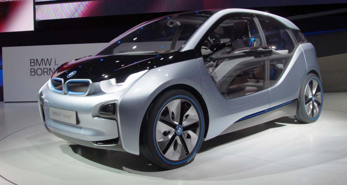 Francfort 2011 : i3, la citadine électrique selon BMW