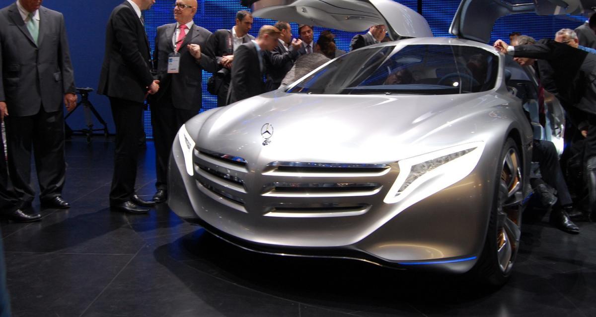 Mercedes concept F125 : quand les voitures auront des ailes