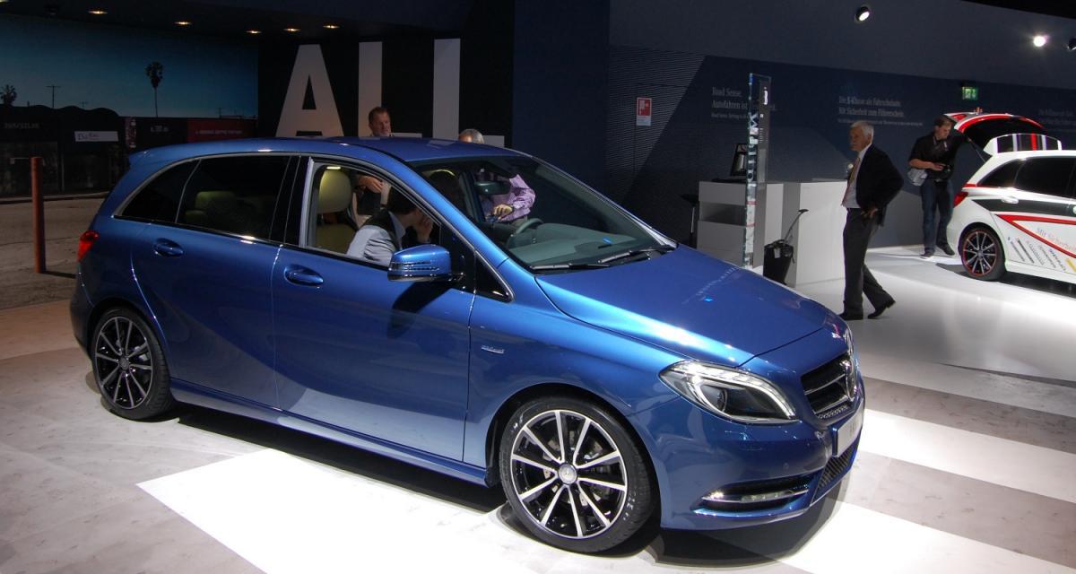 En direct de Francfort : la nouvelle Mercedes Classe B