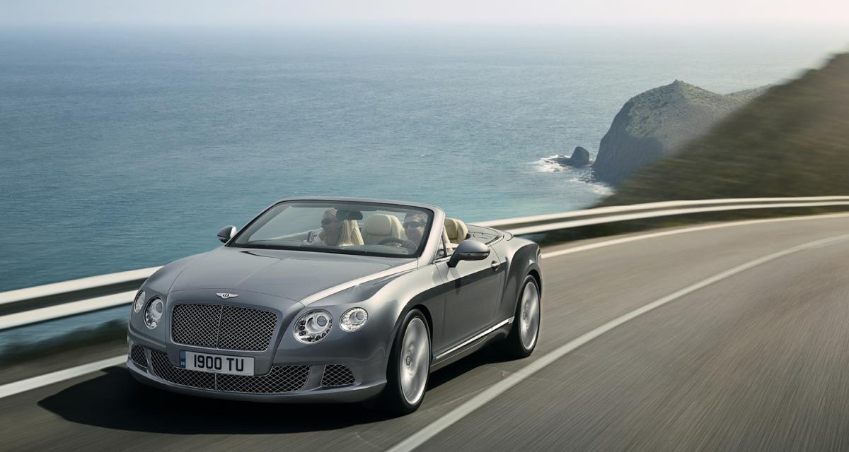 Salon de Francfort : Bentley Continental GTC