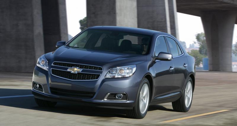 Francfort 2011 : Chevrolet Malibu