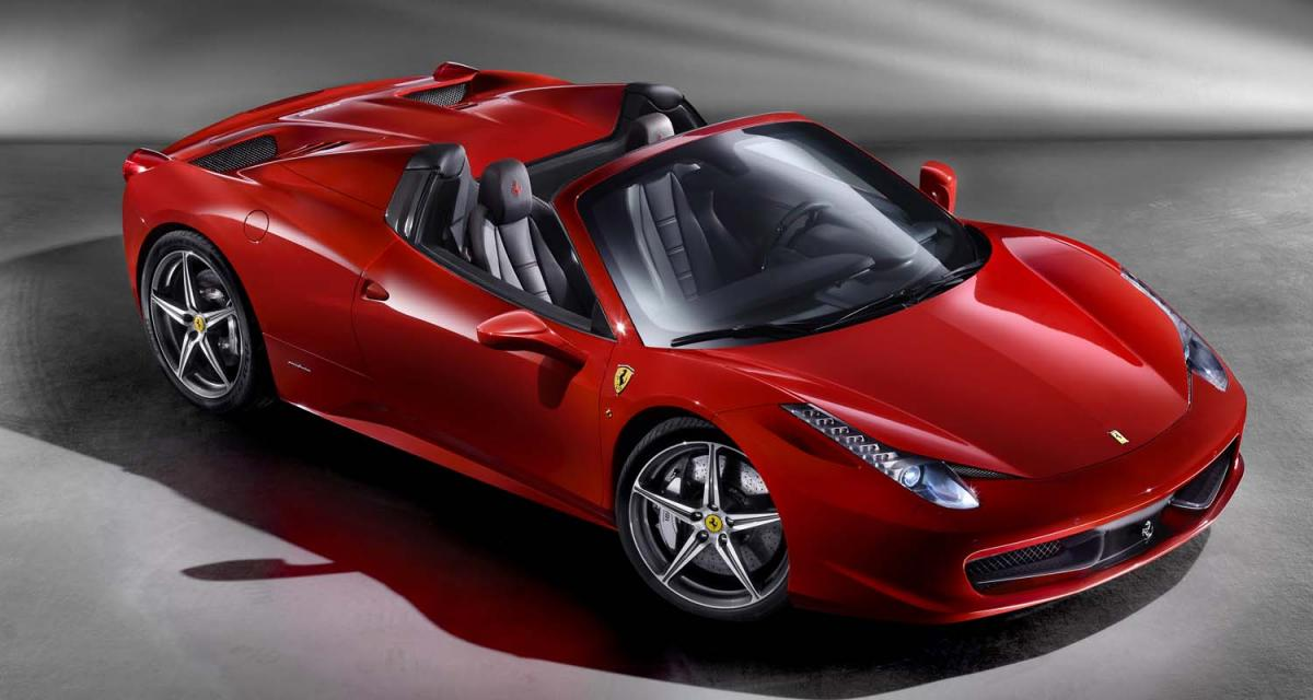 Salon de Francfort : Ferrari 458 Spider