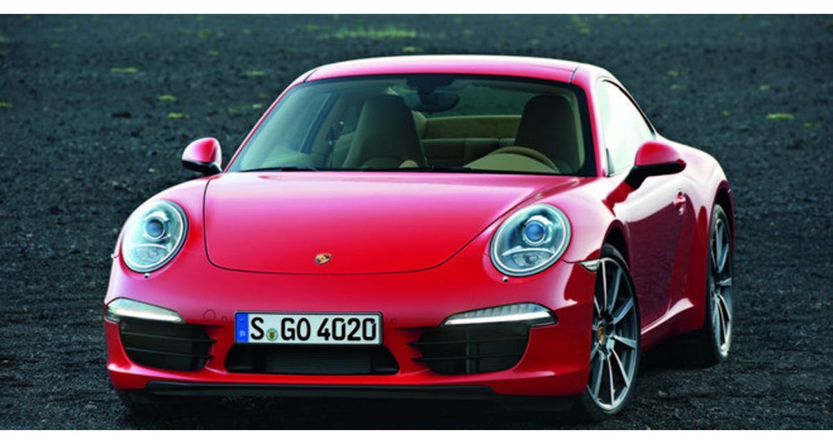 Nouvelle Porsche 911 : à partir de 89 498 €