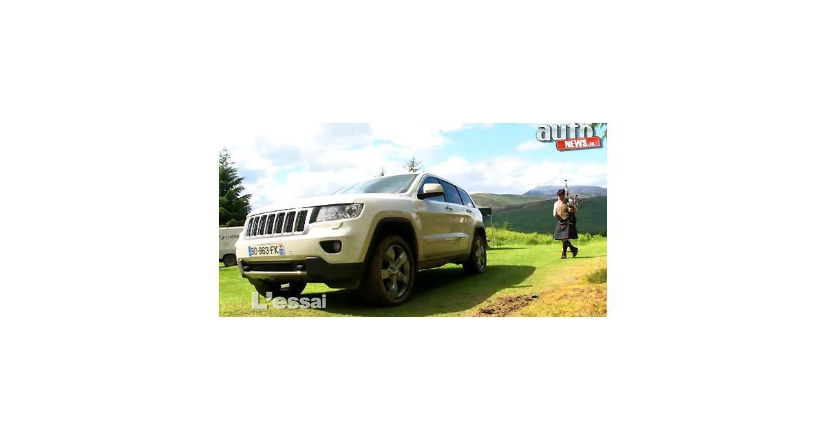 Essai vidéo : Jeep Grand Cherokee 3.0 CRD 241 ch
